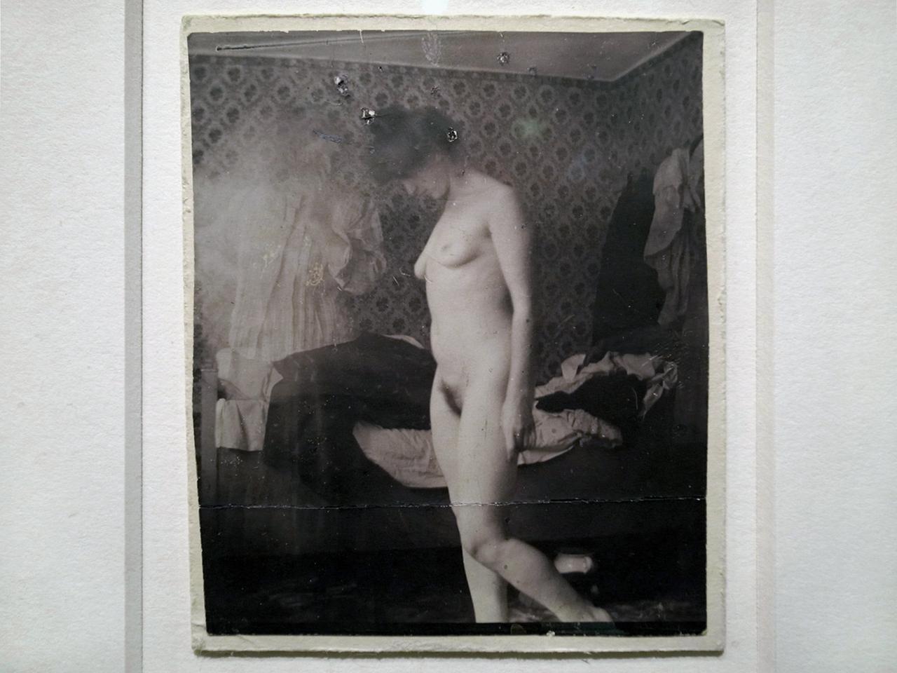 ce que voit le peintre et ce qu'il nous envoie Munch-nu-photo