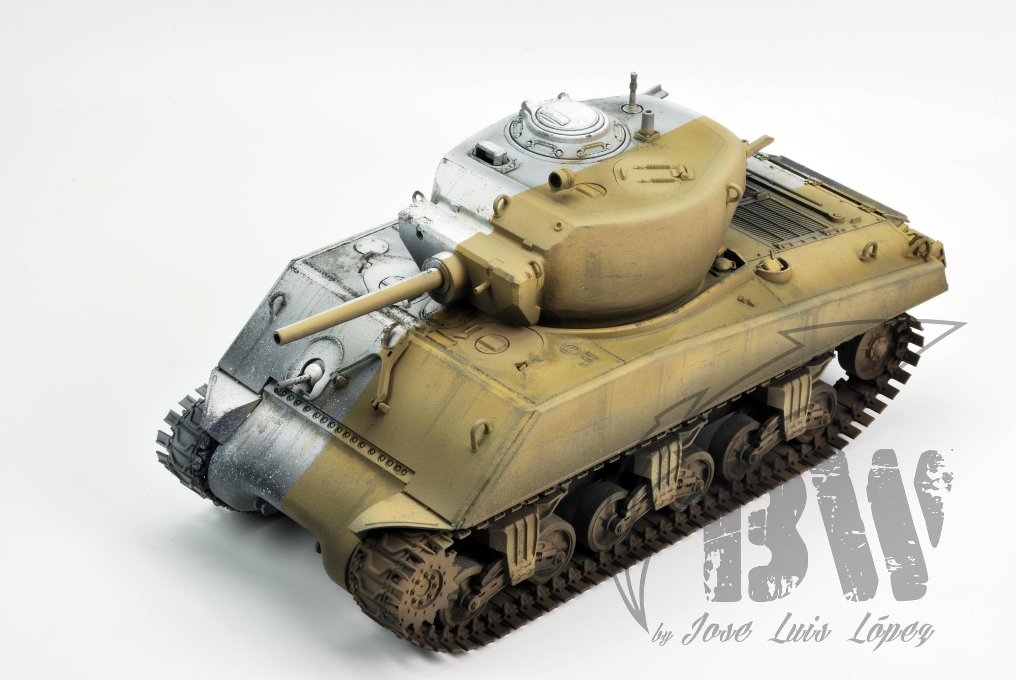 """Техника Black&White ( а если по русски """" Черно белая"""") Sherman-BW_YS_1"""