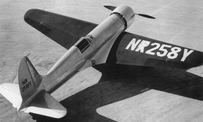 "Hughes H-1B Racer ""Short wing version"" (Planet Models) HughesH1"
