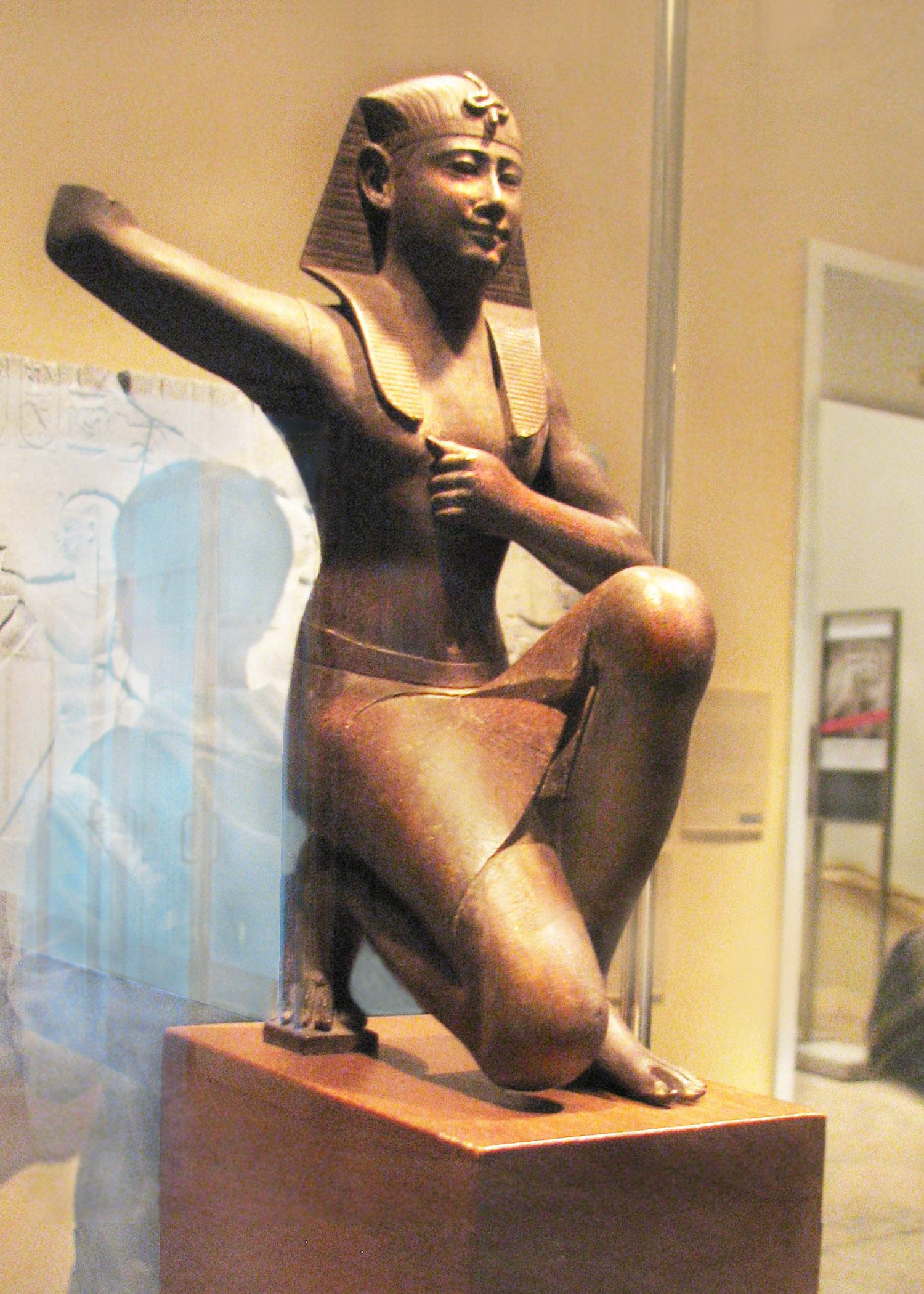 Ritual Royal Figure, 30th Dynasty Henuking-
