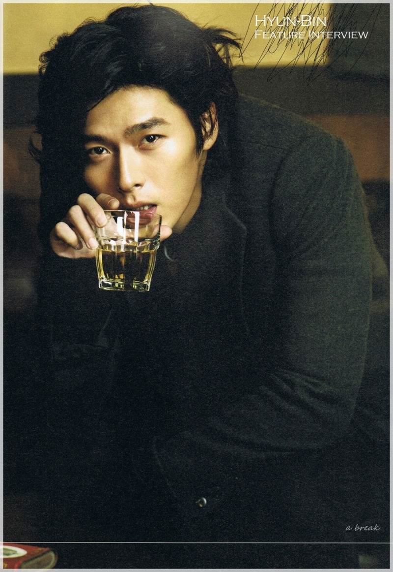 Hyun Bin (Хьон Бин)  Hyun-bin-cosmo-long-hair-with-drink