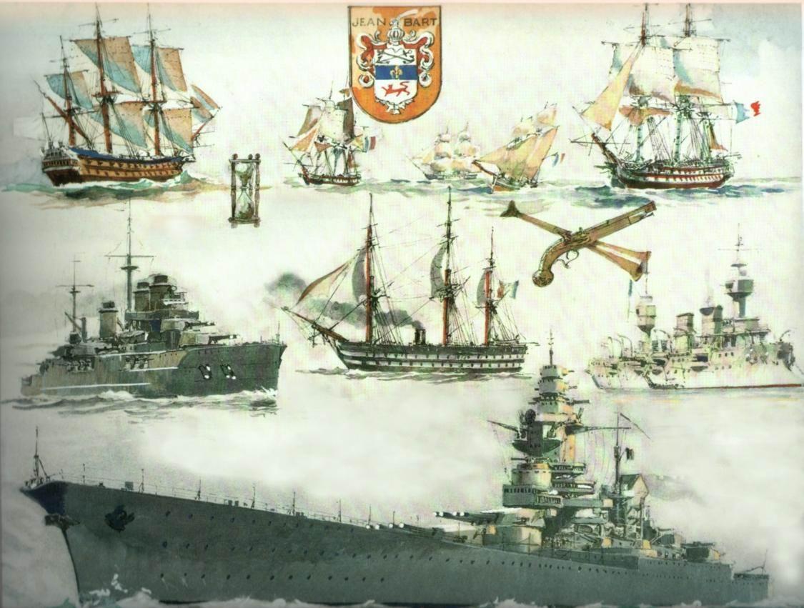 Le Jean Bart: navire de 84 canons de l'époque de Louis XIV Cuirasse_Jean_Bart