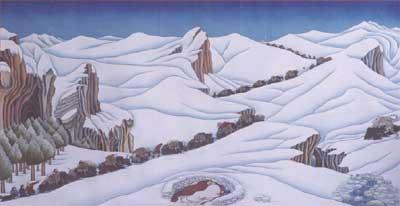 Nicholas Roerich ou découverte d'un grand peintre ésothérique Exponorbu1