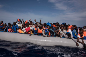 Refugee Crisis: EU Cites Missing Libyan Navy It Destroyed in 2011 MIGRANTS046-300x200