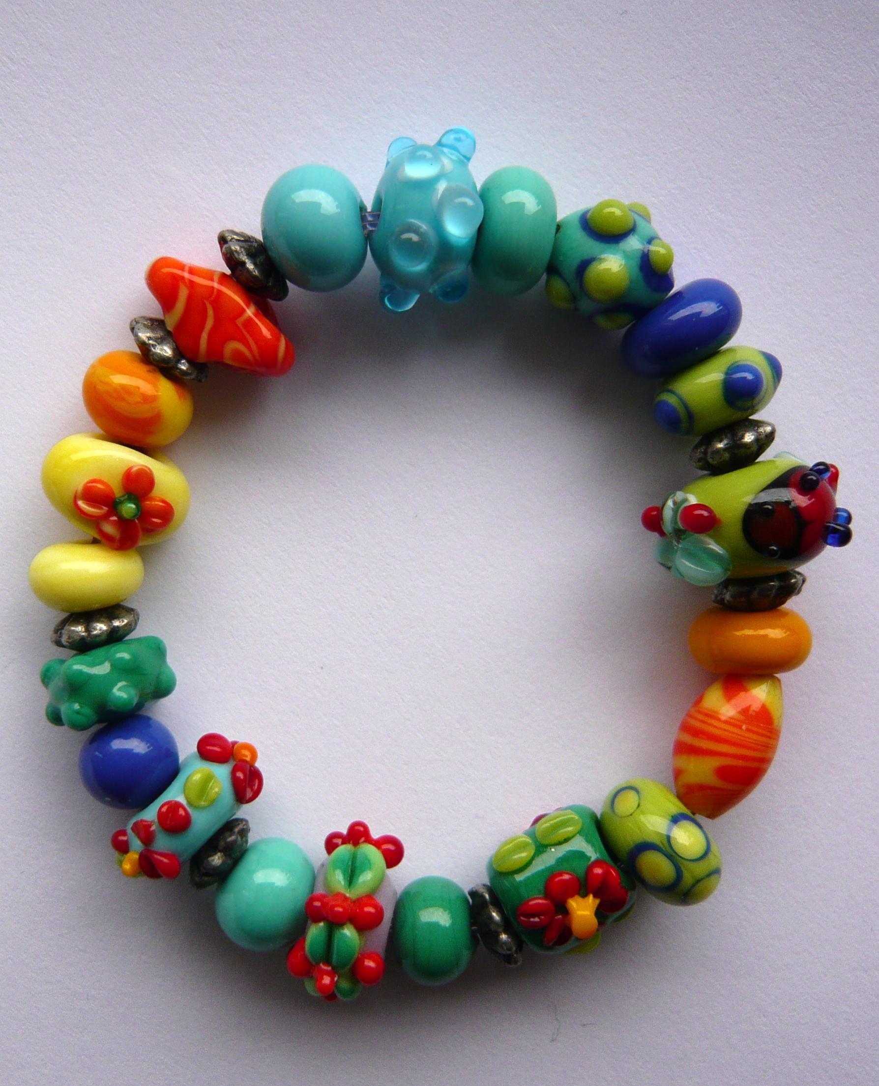 Kleurijke sieraden Kindarmband1