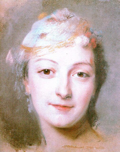 Le Devin du Village, de Jean-Jacques Rousseau, Théâtre de la reine au Petit Trianon Marie%20fel%20par%20quentin%20latour