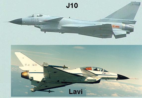 مـصـر و تطوير القوه الجويه  J10-and-Lavi-comparison