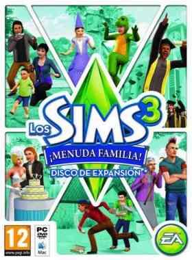 Los Sims 3: Menuda Familia Español expansión de los Sims 3 Los-sims3-pc
