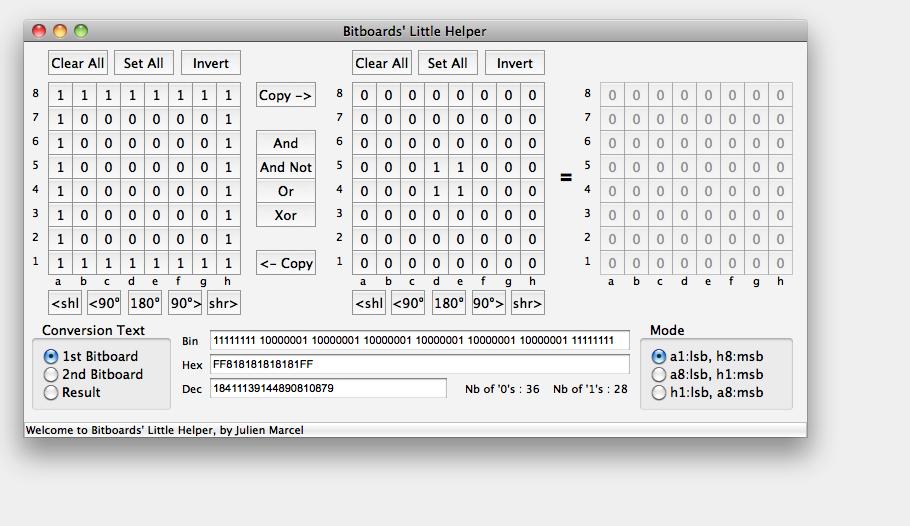 New free tool : Bitboards Helper BLH_MAC