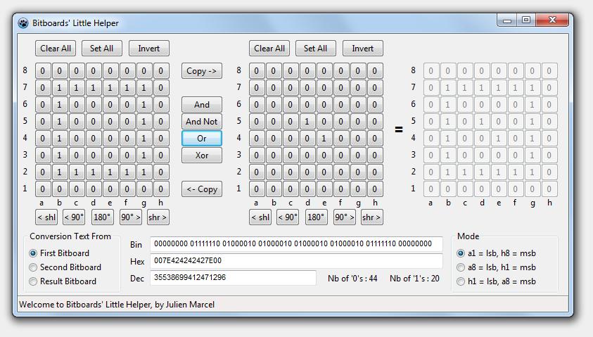 New free tool : Bitboards Helper BLH_PC