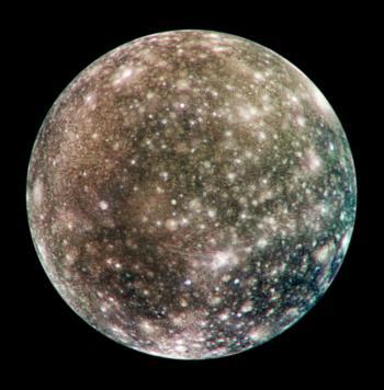 Texture Pianeti e Lune Alta Risoluzione. Callisto