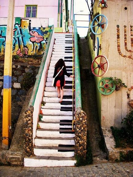 Oslikane stepenice Stairs31