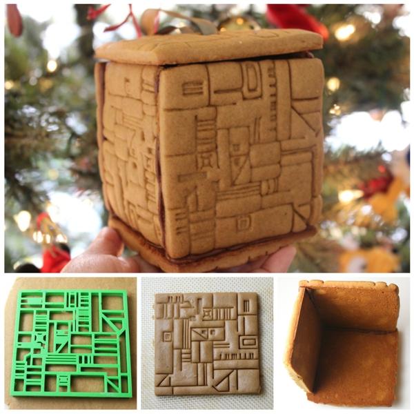 Weihnachten naht ... Gingerbread-Borg-Cookie-Box