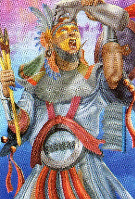 Deidades aztecas EAF