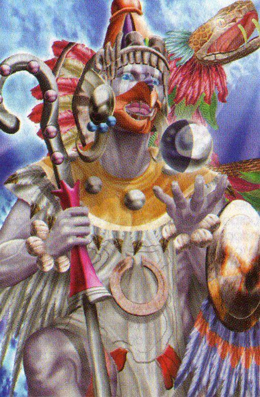 Deidades aztecas F0B