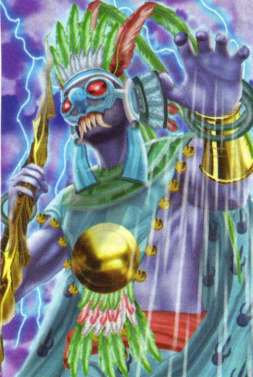 Deidades aztecas 5CB
