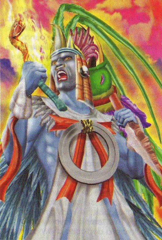 Deidades aztecas 8DD