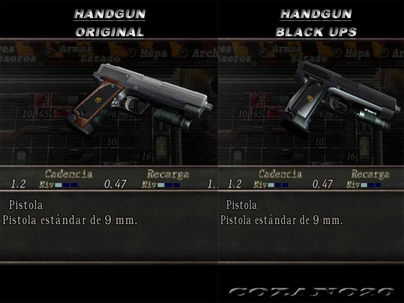 Handgun Original Negra 7056880BD