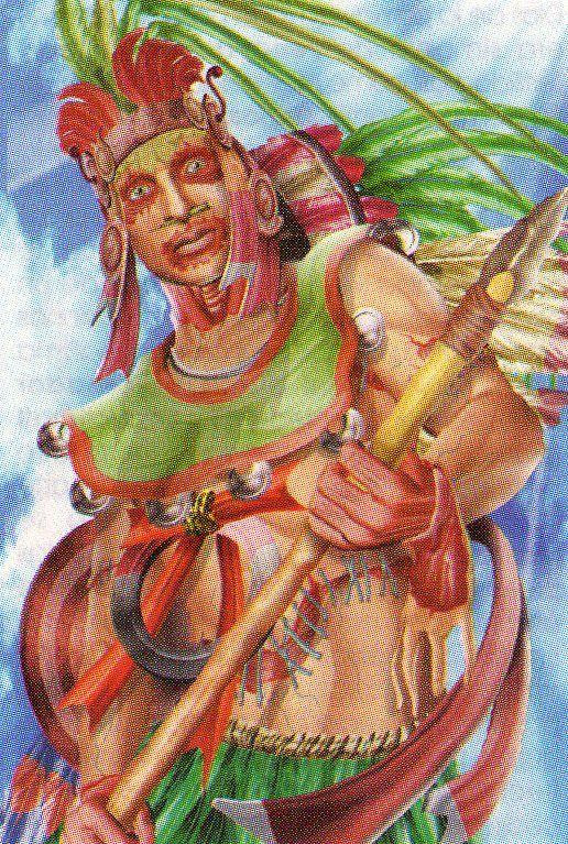Deidades aztecas 4BE