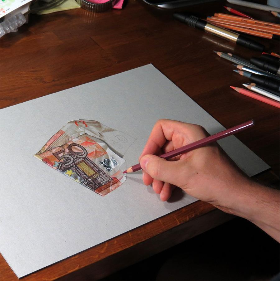 Ilustraciones hiperrealistas espectaculares 384