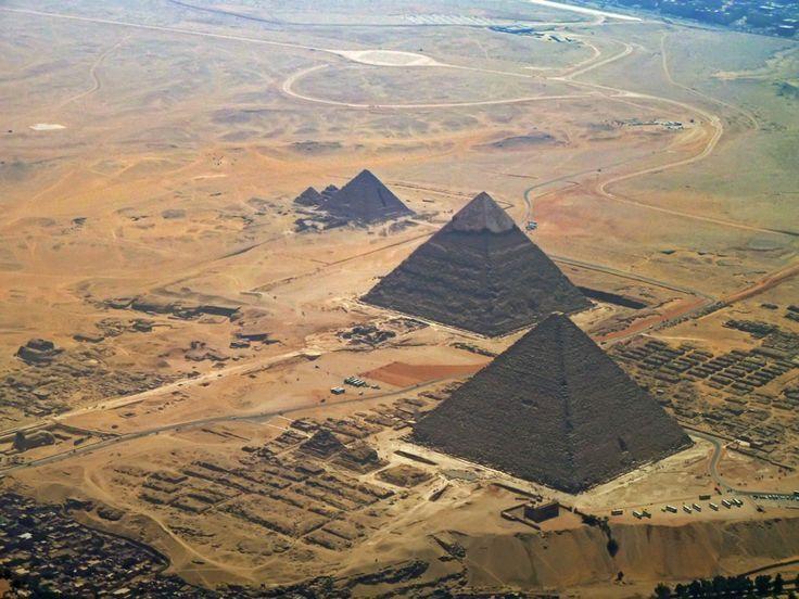 La tecnología de lo imposible, las pirámides de Egipto B4A