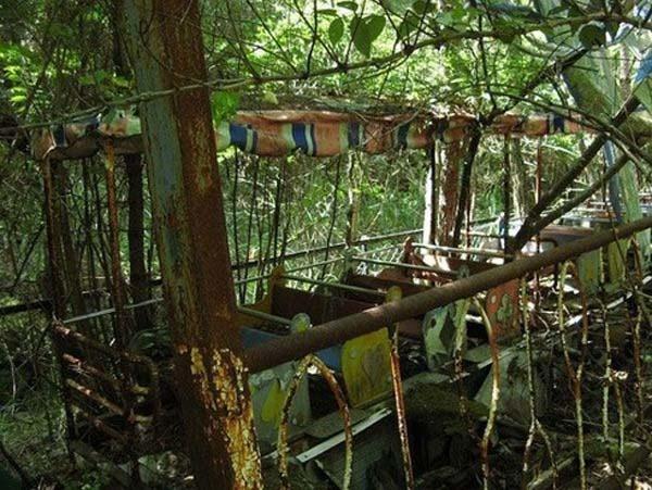Parques de atracciones abandonados 91F