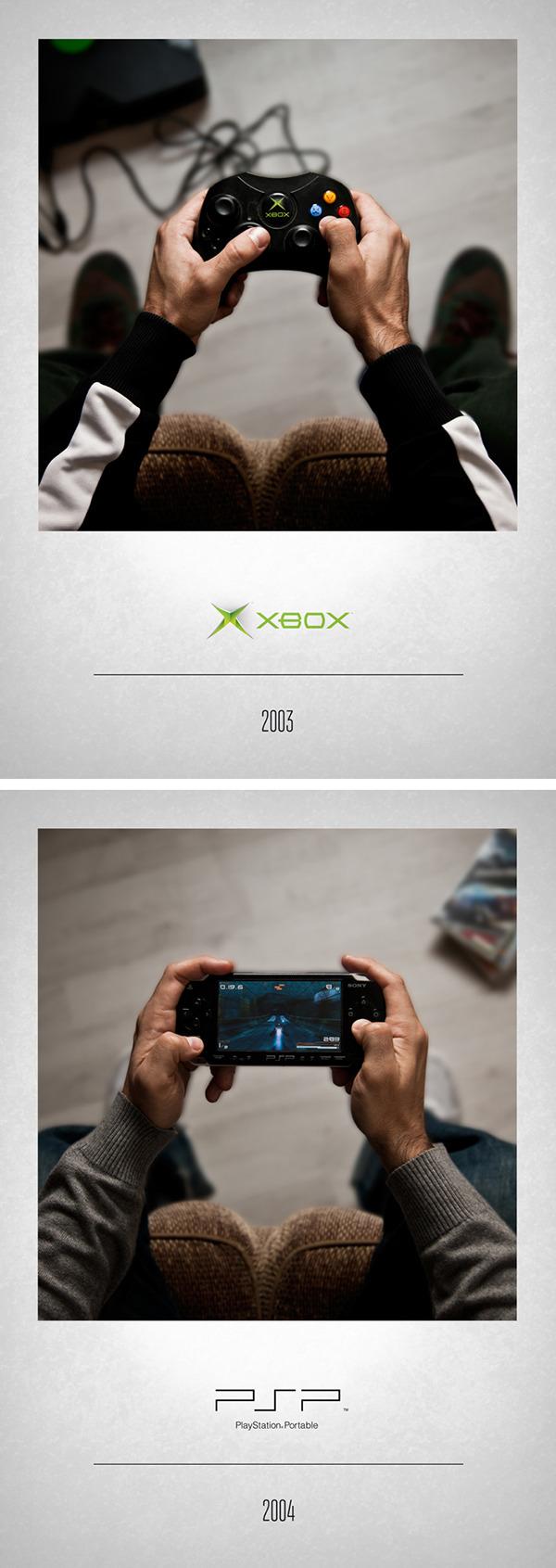 La evolución en la vida de un Gamer A05