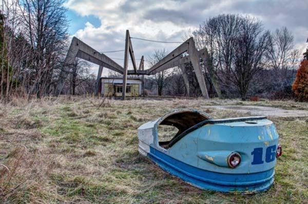 Parques de atracciones abandonados BE8