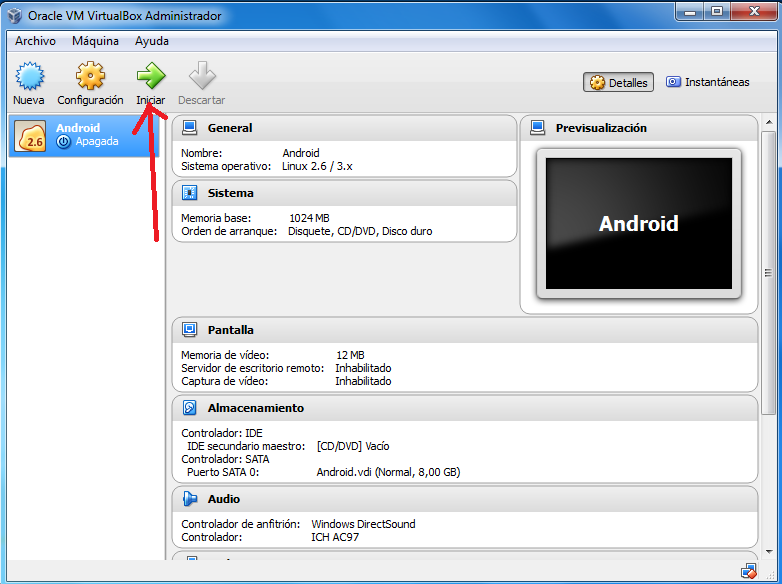 Instalar Android x86 en el ordenador F3F