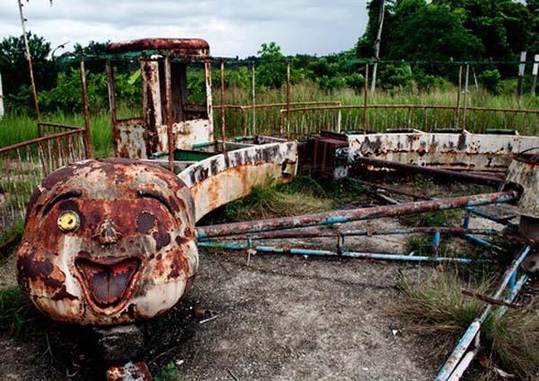 Parques de atracciones abandonados 1D1
