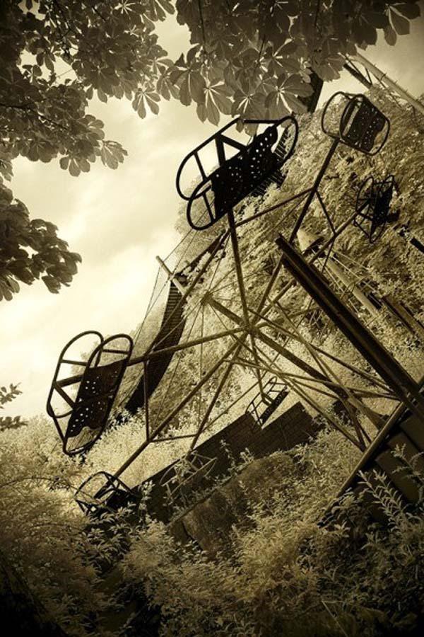 Parques de atracciones abandonados 50D