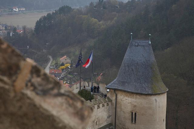 Castillos y Pueblos de la República Checa F31