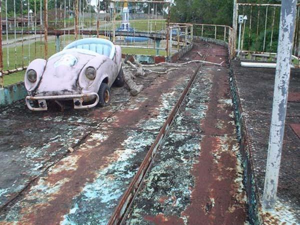Parques de atracciones abandonados CEA