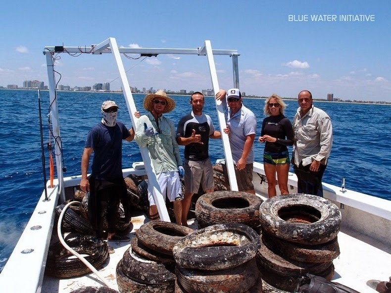 El fracaso del arrecife artificial de neumáticos 370