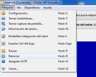 Instalar Android x86 en el ordenador A8B
