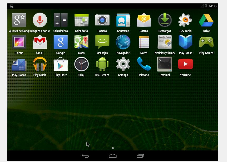 Instalar Android x86 en el ordenador EF4
