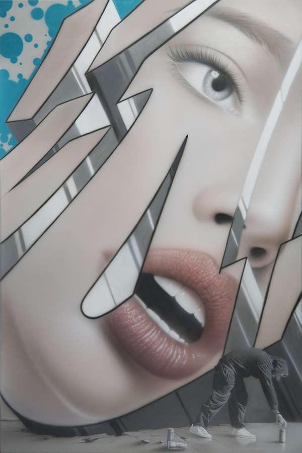 Los Graffitis realistas de Adam Klodzinski 1E9