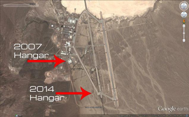 El Área 51 sigue en construcción y creciendo hoy en día E9D