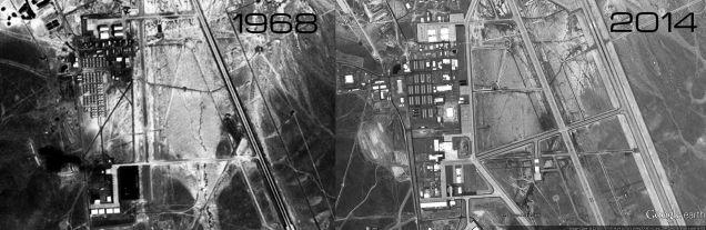 El Área 51 sigue en construcción y creciendo hoy en día 693