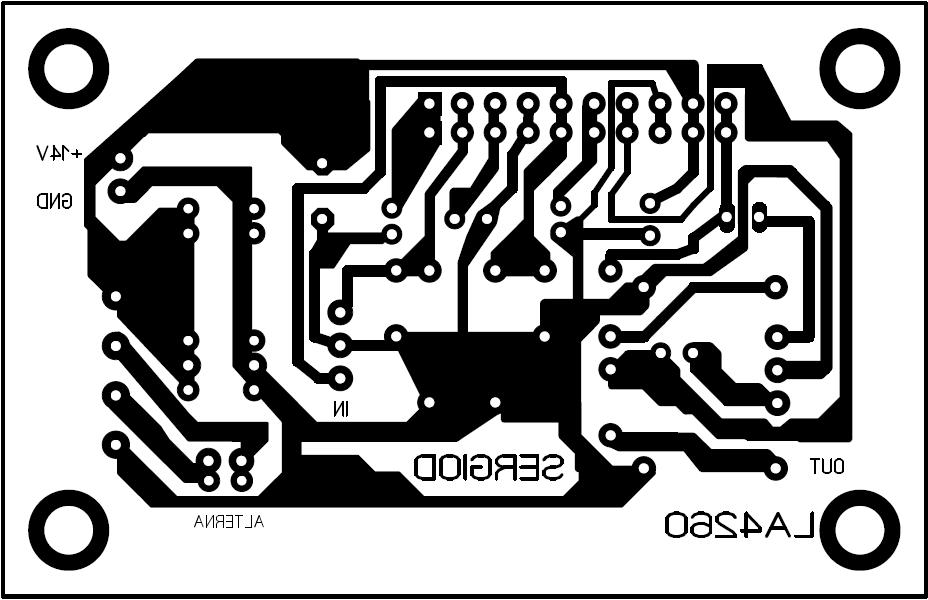 Amplificador con el CI LA4260 8F3