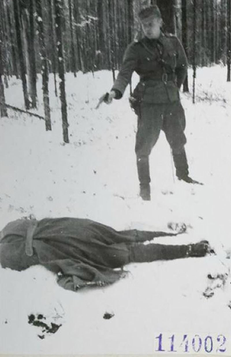 Fotografías de la Segunda Guerra Mundial y su historia 35E