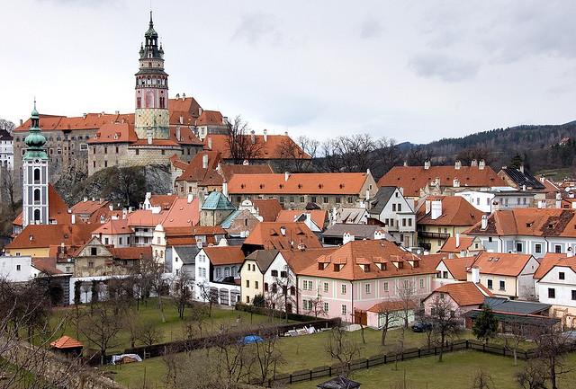 Castillos y Pueblos de la República Checa E37