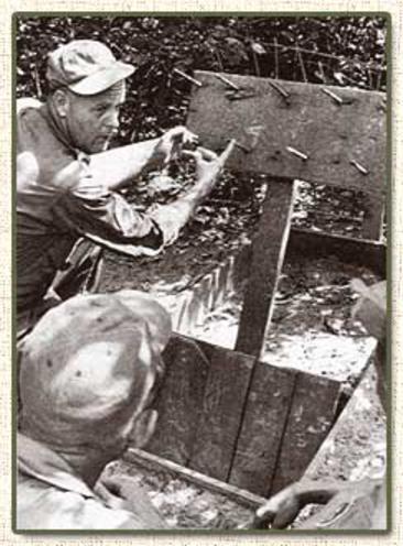 Trampas utilizadas por el Vietcong - Fabricación  F4110EDD2