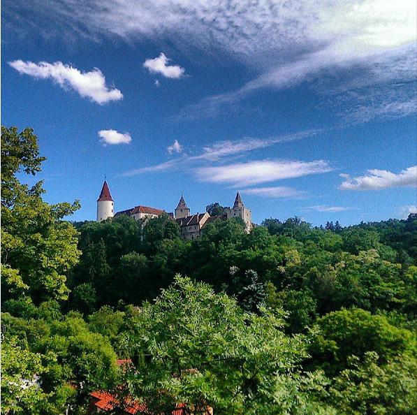 Castillos y Pueblos de la República Checa A73