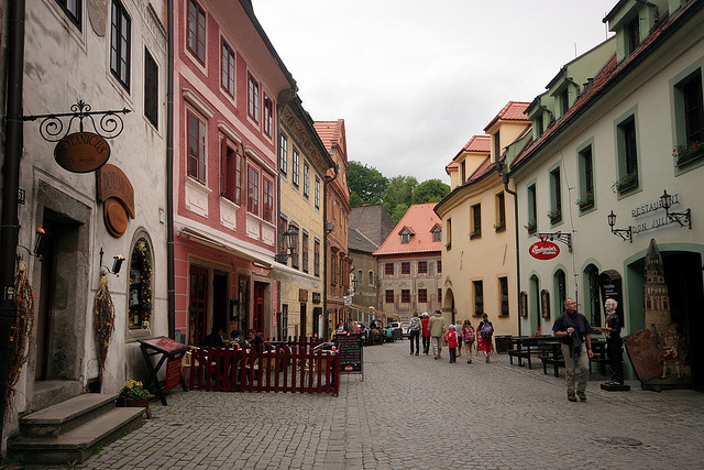 Castillos y Pueblos de la República Checa 181