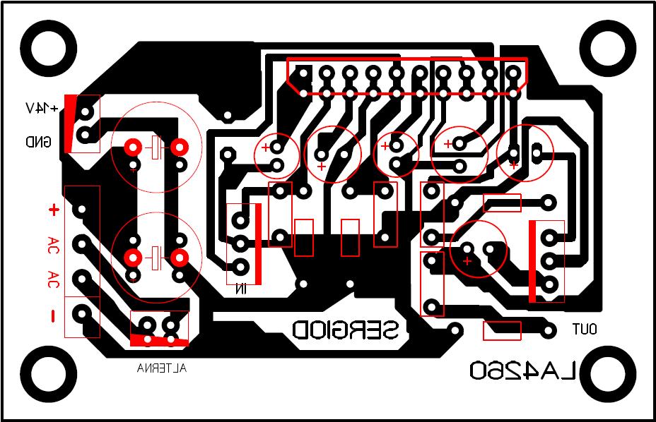 Amplificador con el CI LA4260 870