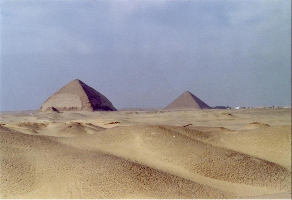 La tecnología de lo imposible, las pirámides de Egipto 7B3