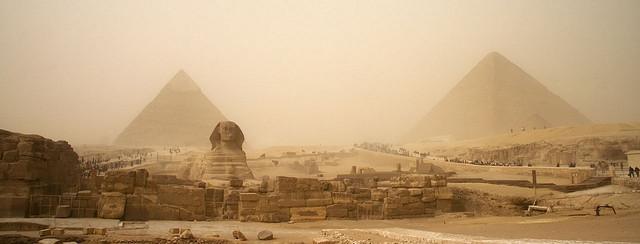 La tecnología de lo imposible, las pirámides de Egipto 91F