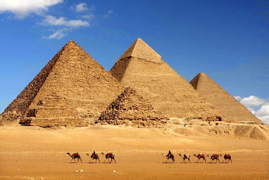 La tecnología de lo imposible, las pirámides de Egipto D5B