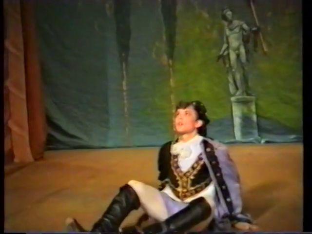 «Двенадцатая ночь» по пьесе У.Шекспира - выпуск СГбГАТИ, 6 мая 1990 г (видео, скрины) 33c38